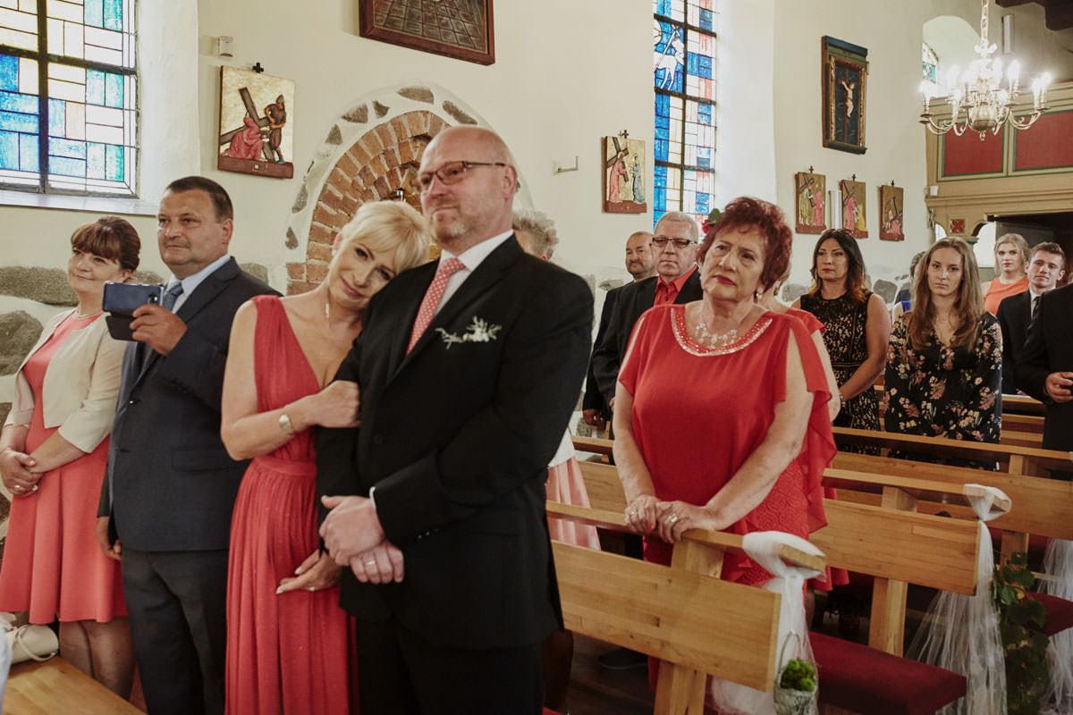 kosciół Przybiernów - emoecje w kościele