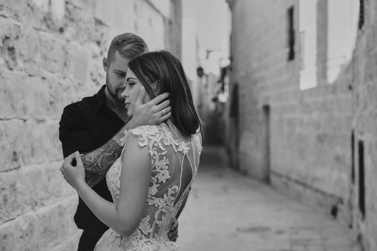 zdjecia ślubne malta - Mdina zdjęcia