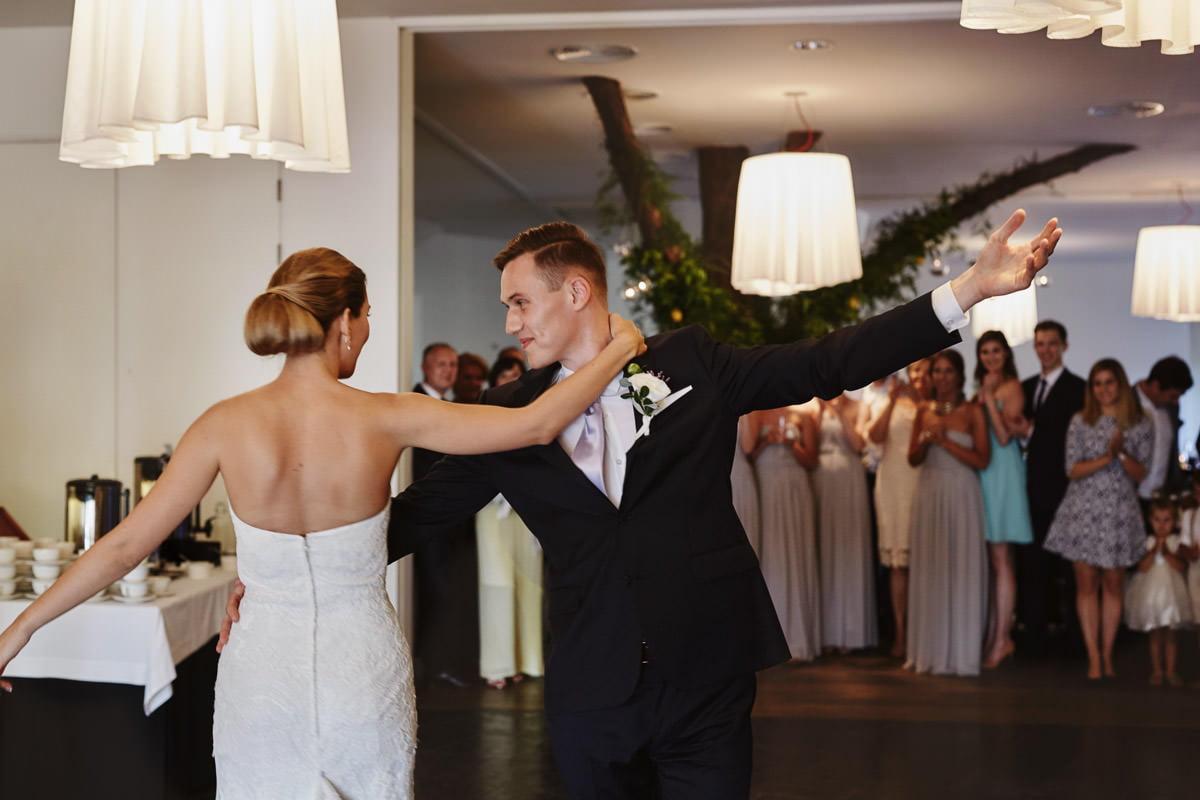 Spalarnia - pierwszy taniec