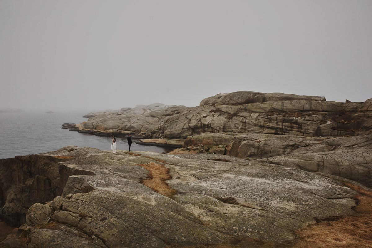 kamieniste wybrzeże Verdens Ende