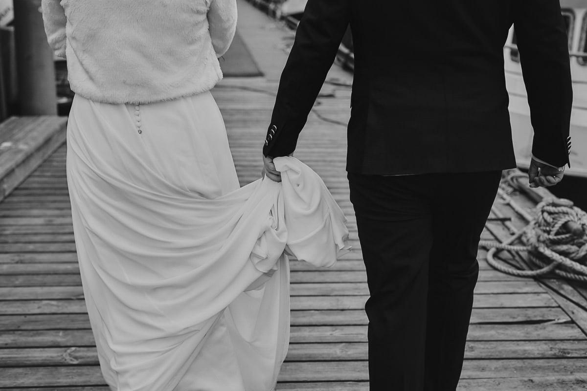 suknia i garnitur