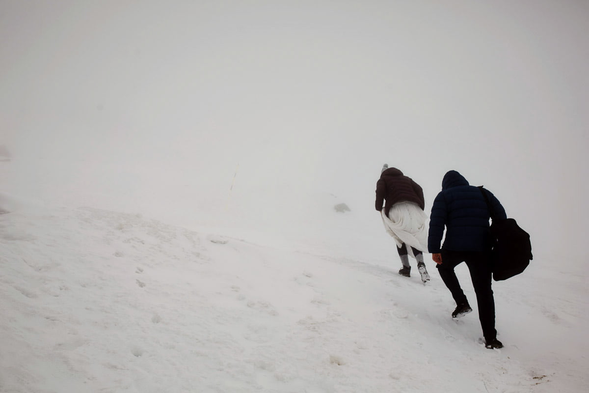 ludzie w górach