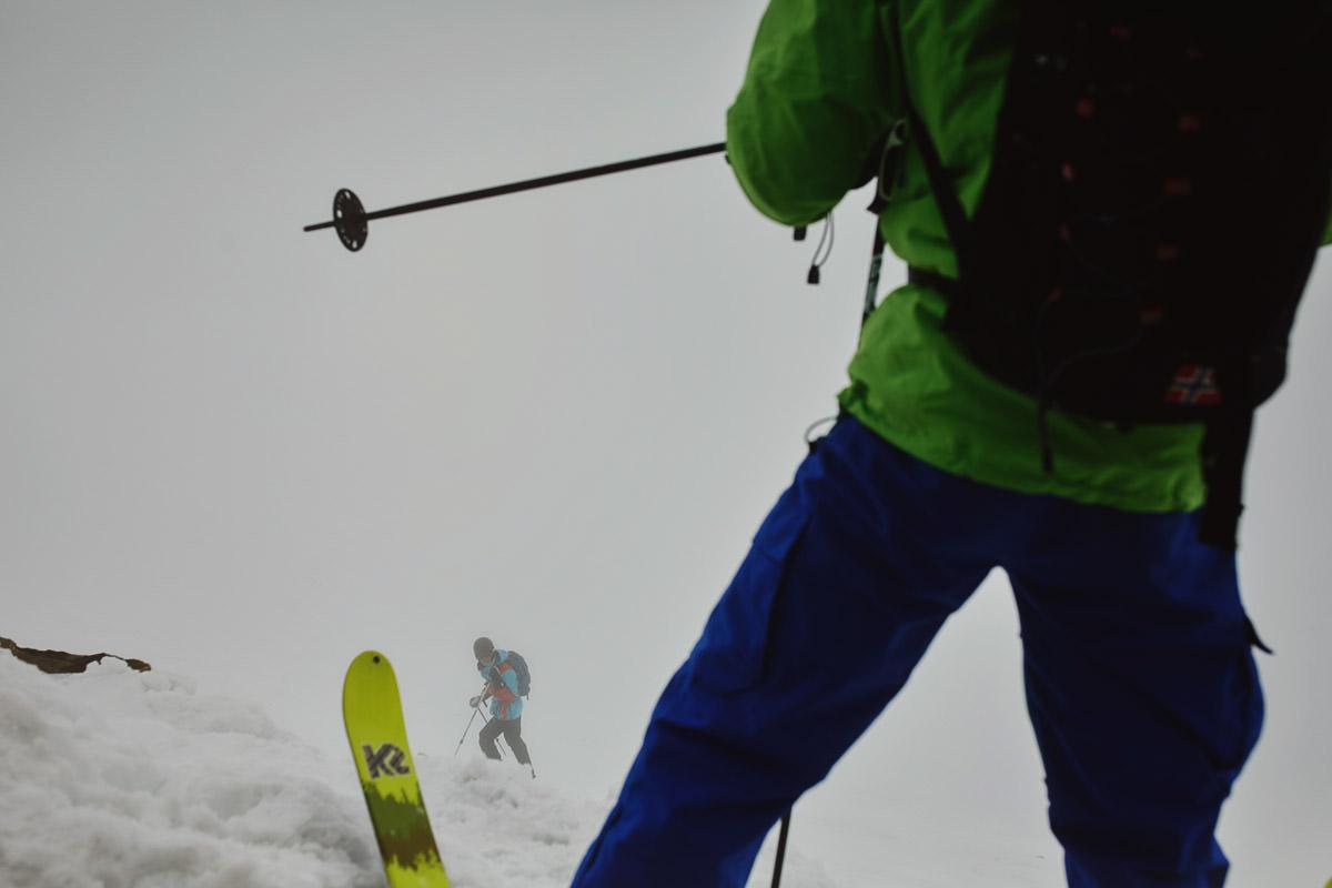 narciarze na Gaustattopen