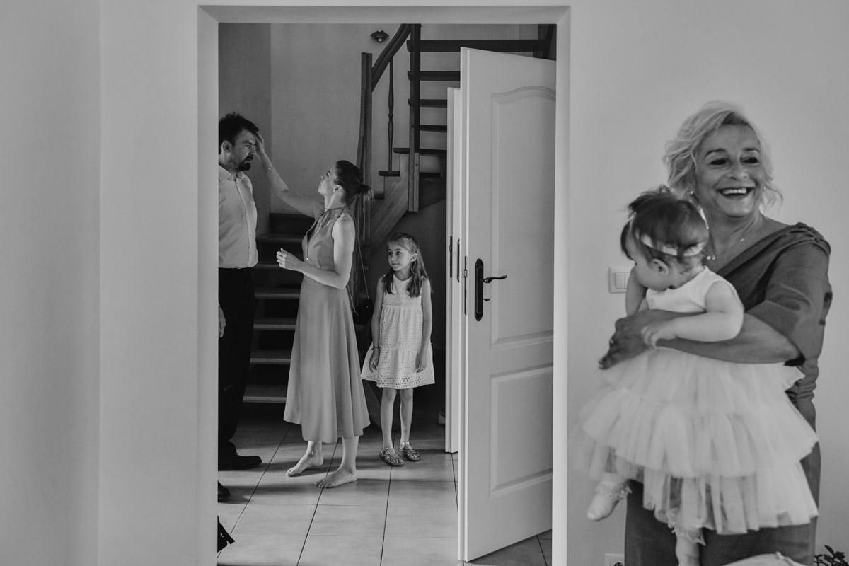 rodzina panny młodej