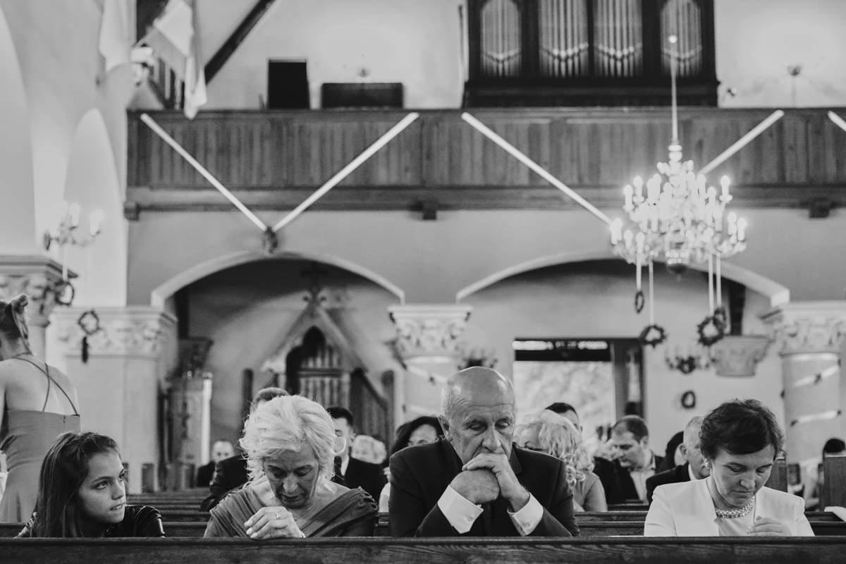 rodzine na mszy