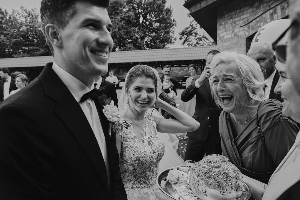 Villa Toskania - przywitanie przez rodziców