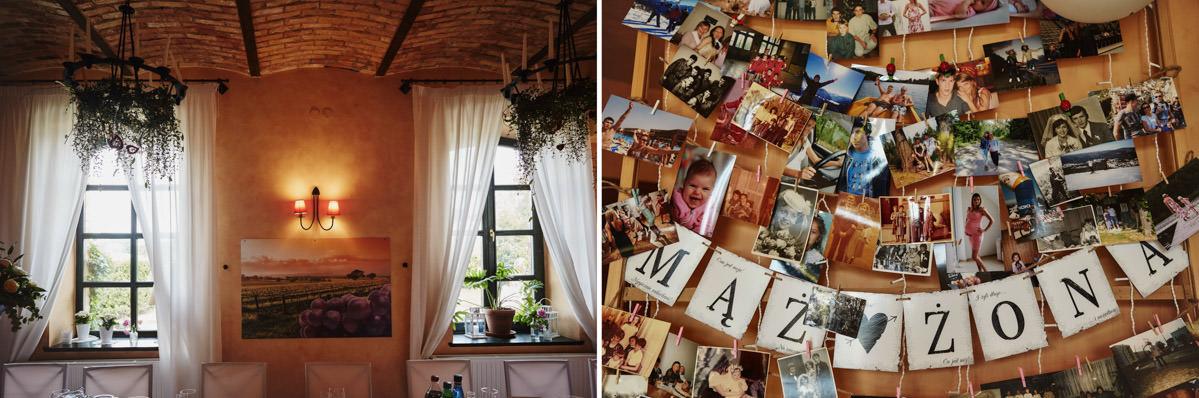 Villa Toskania - detale ślubne