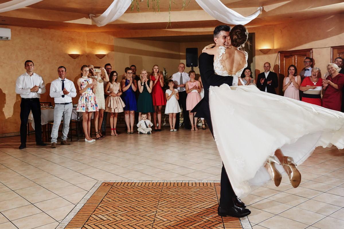 Villa Toskania - pierwszy taniec