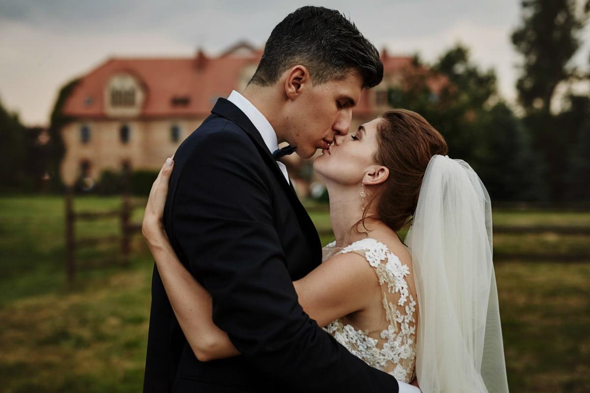 Villa Toskania - sesja w dniu ślubu