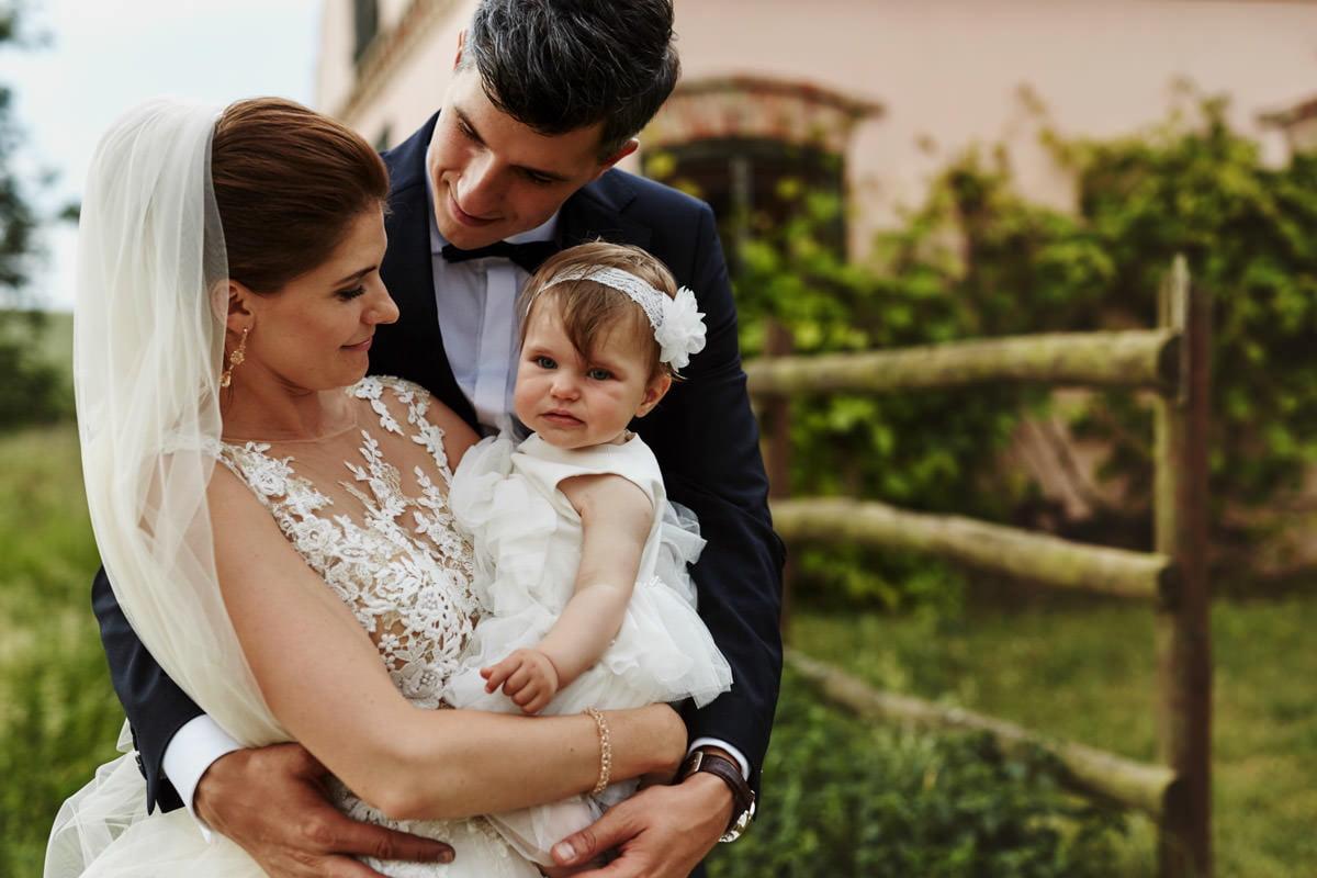 Villa Toskania - sesja z dzieckiem