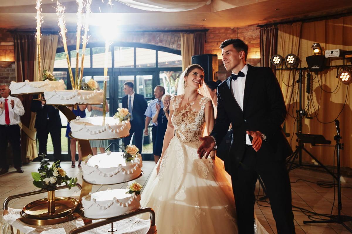 Villa Toskania - tort weselny
