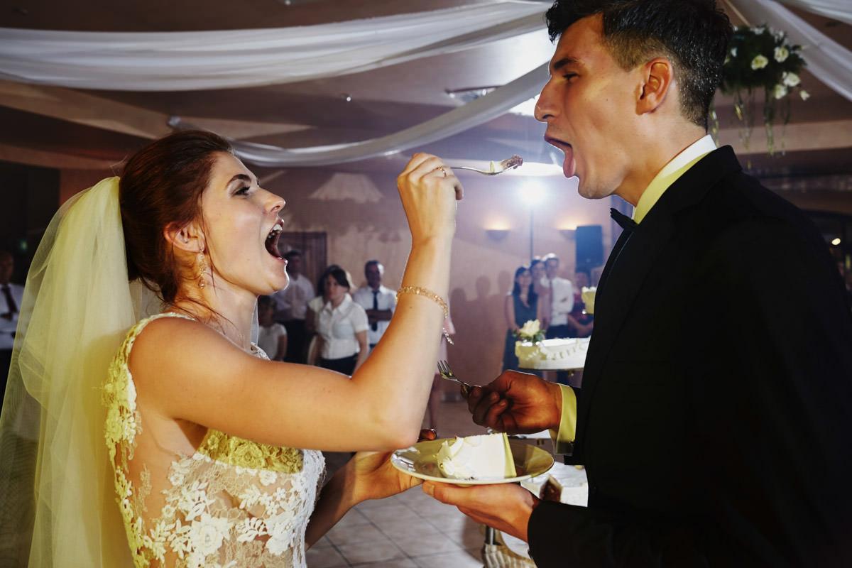Villa Toskania - kosztowanie torta