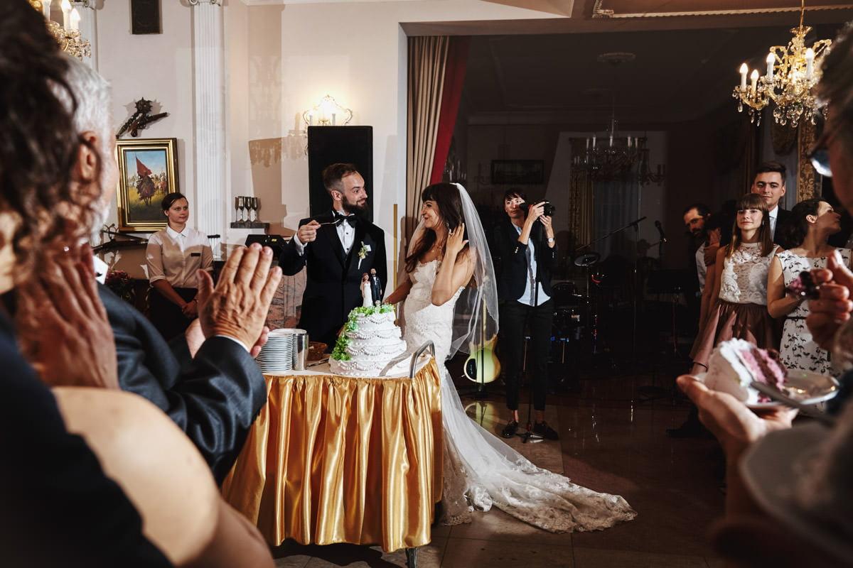 Dworek Hetmański - tort weselny