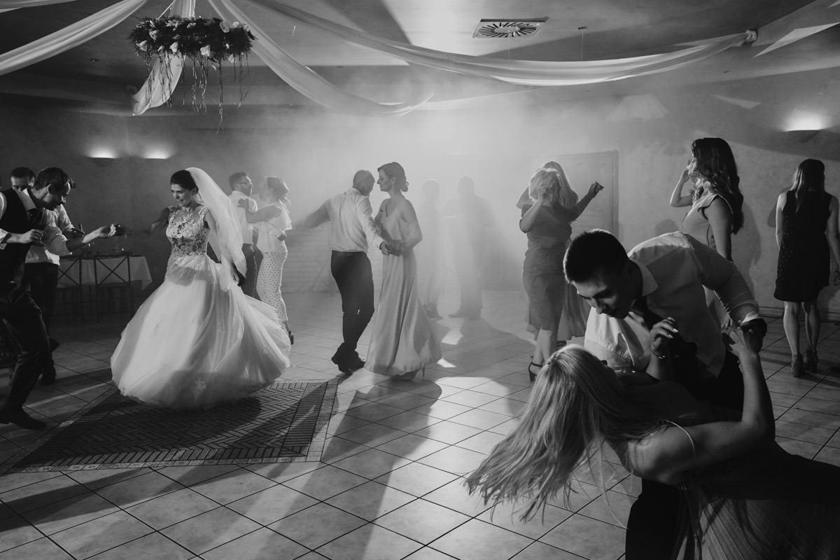 Villa Toskania - na sali weselnej