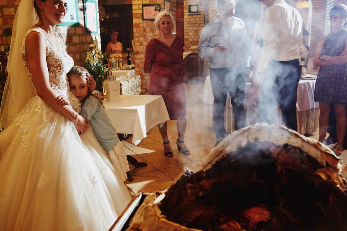 Villa Toskania - świniak na weselu