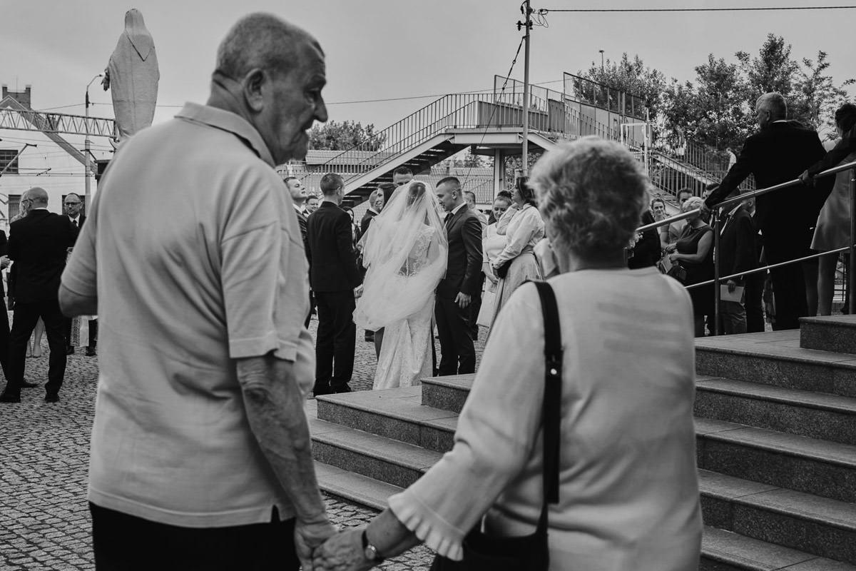 składanie życzeń, reportaż ślubny