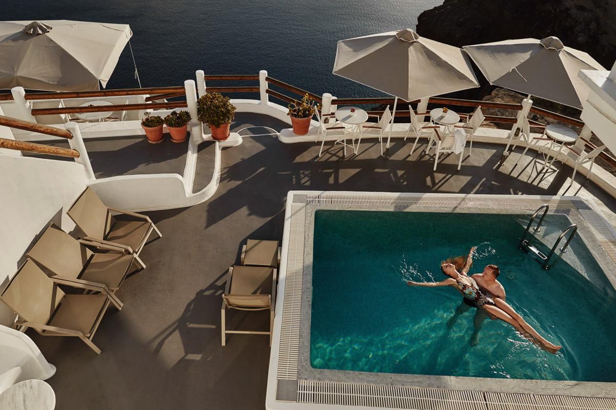 Villa z Basenem Santorini