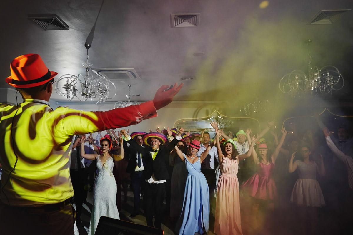reportaż z wesela, taniec