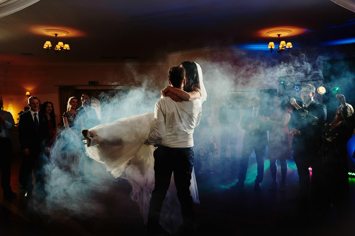 pierwszy taniec w dymie