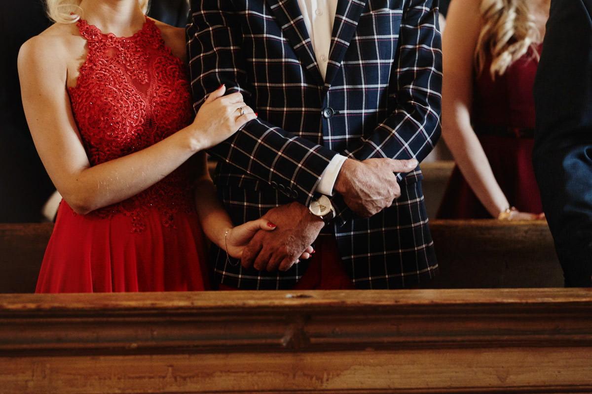 gesty na mszy ślubnej