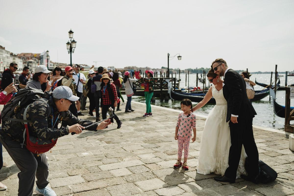 Wenecja turyści