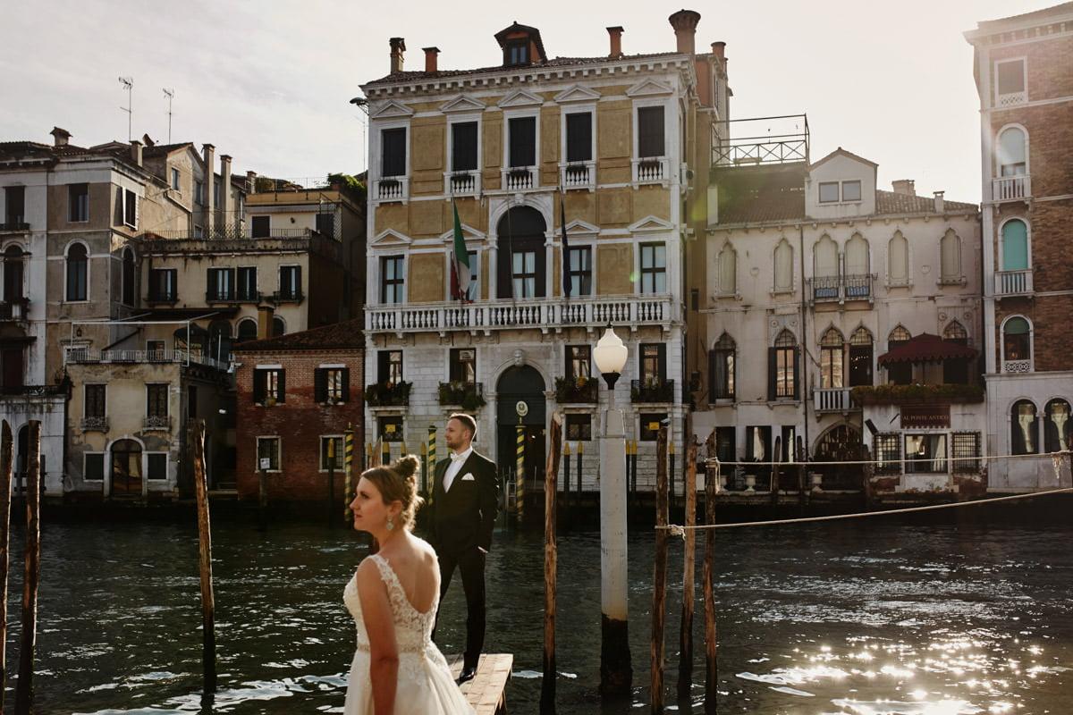Wenecja nad kanałem
