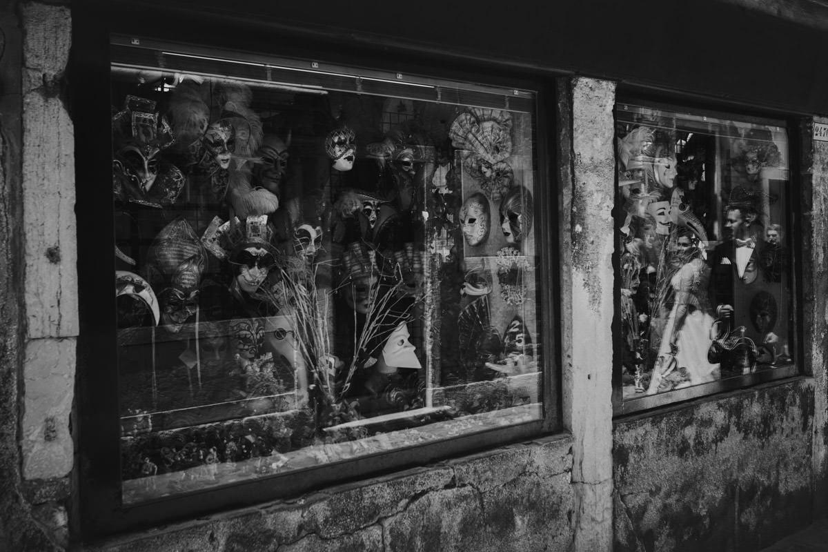 Wenecja - sklep z maskami