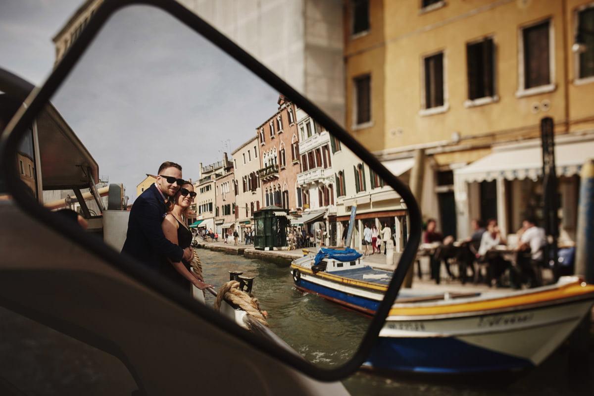 Wenecja łódki