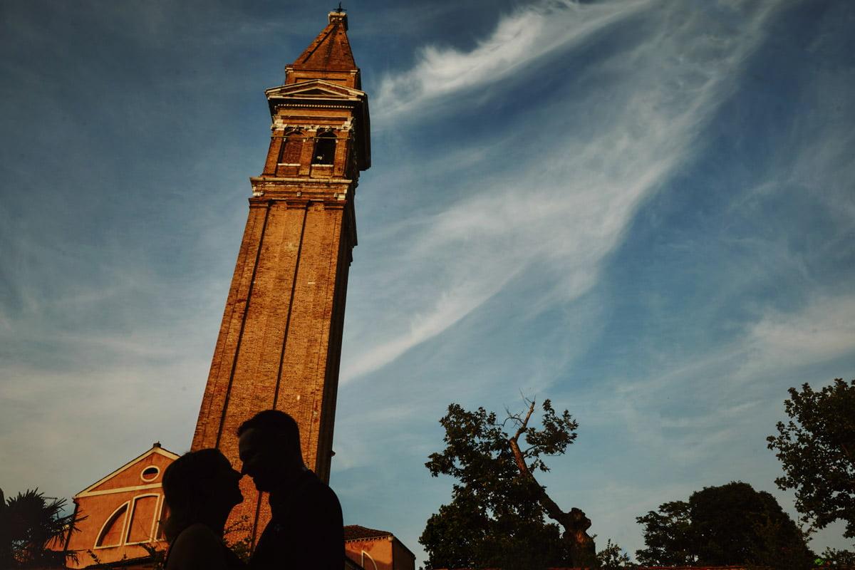 Burano wieża kościoła