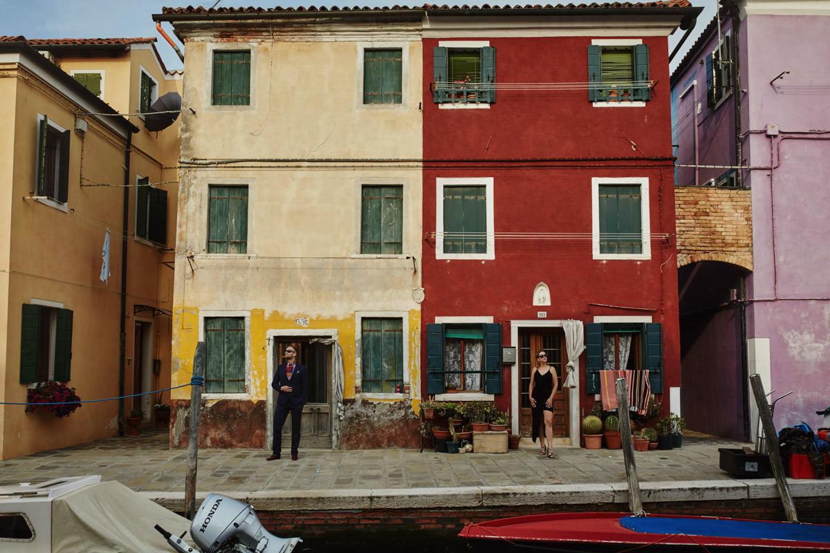 Burano kolorowe domy
