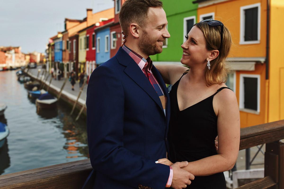 Burano - sesja ślubna