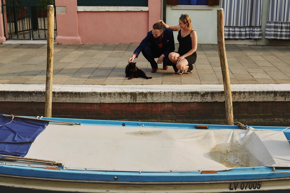 Burano - łódki