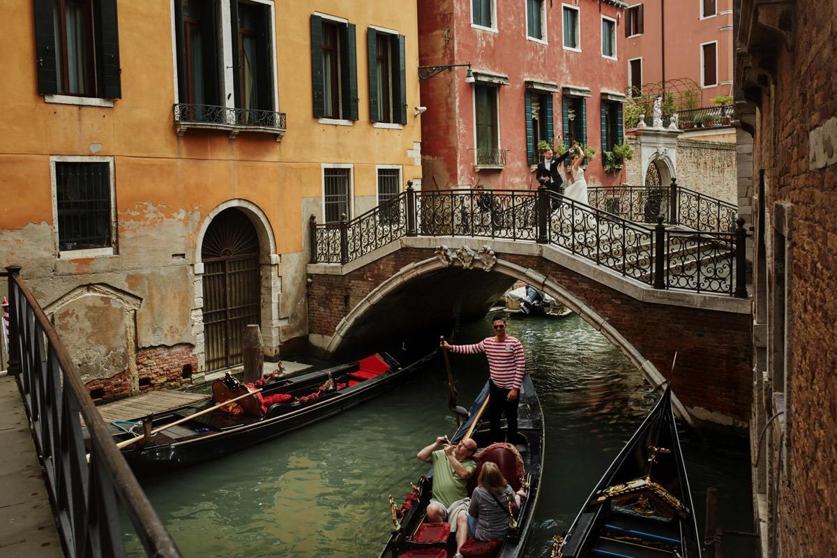 Wenecja z Parą Młodą
