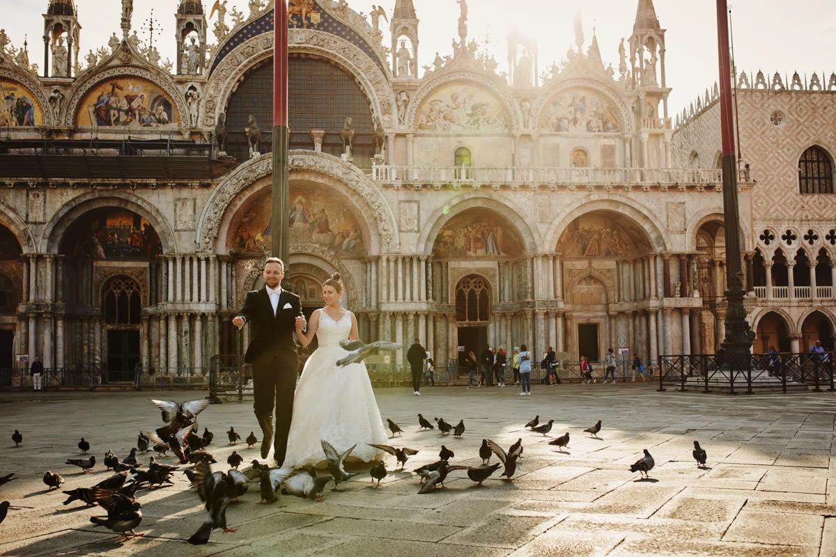 Plac Świętego Marka - Wenecja