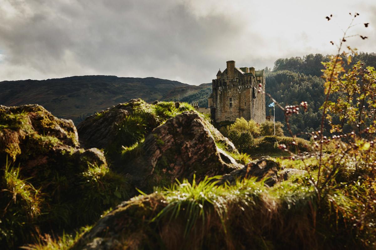 zamek Eilean Donan Castle