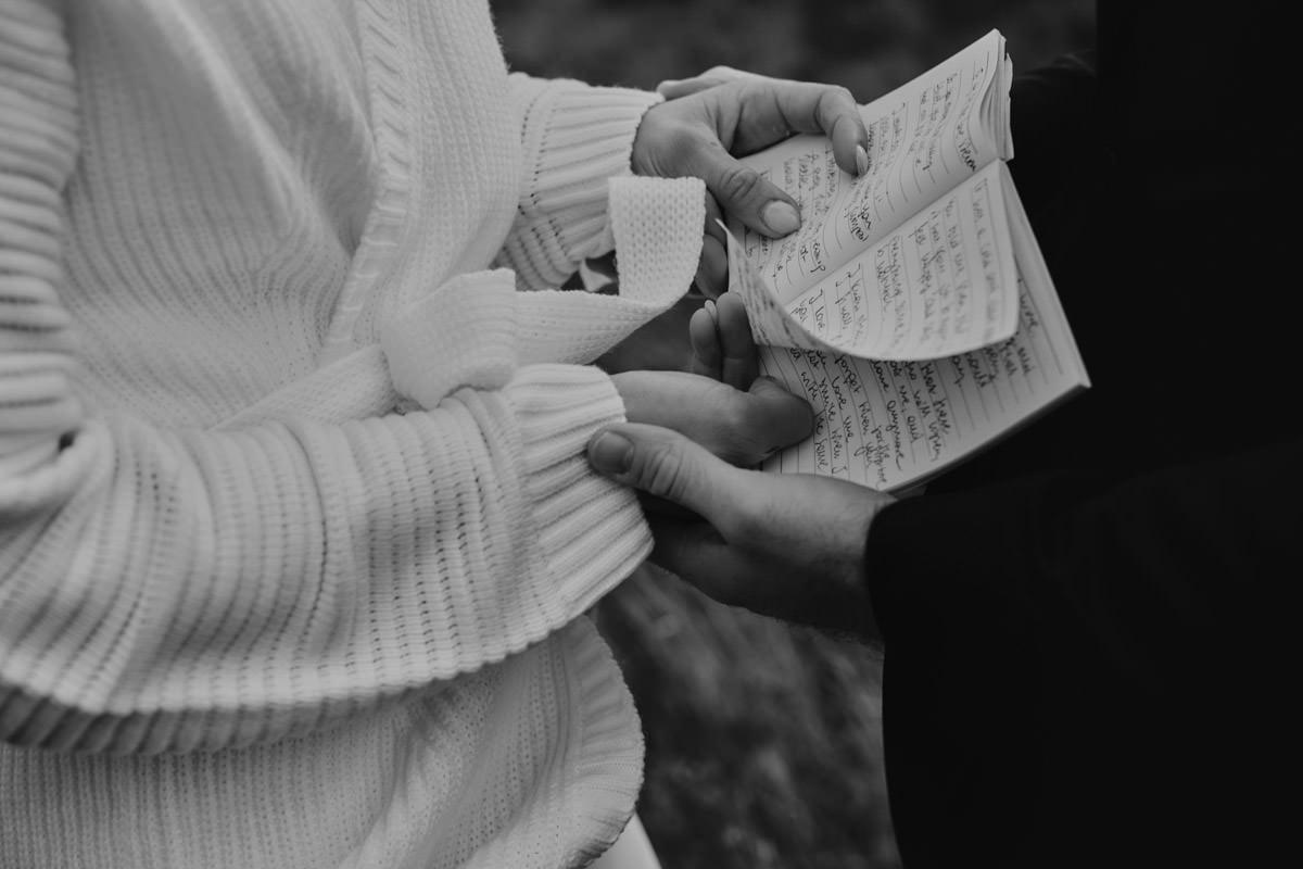 list w dłoni