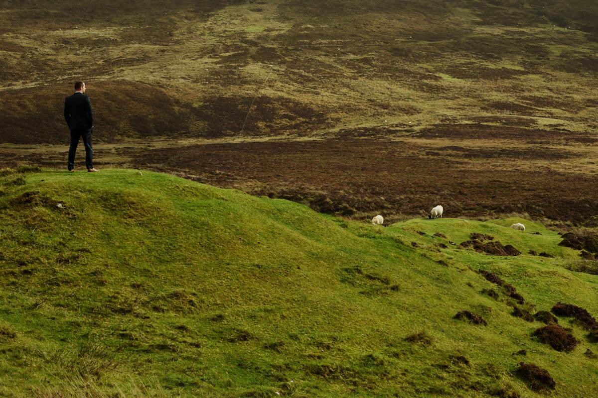 Isle of Skye - zielone hale