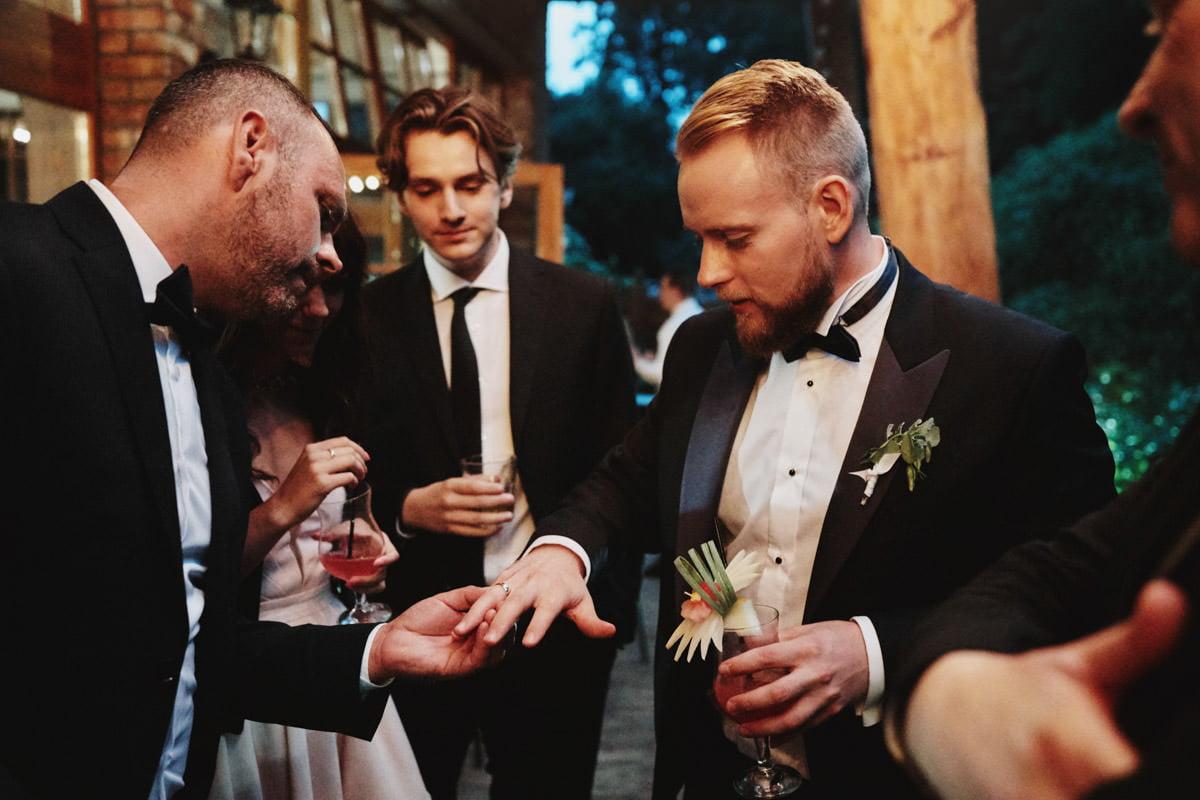 obrączka ślubna - reportaż