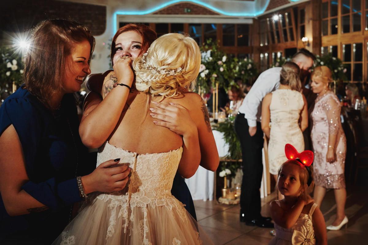 emocje na weselu, reportaż