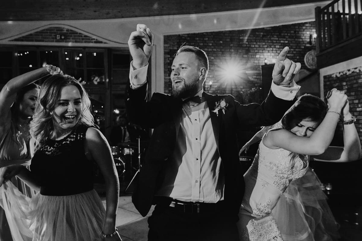 zabawa weselna w Młynie