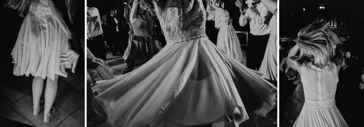 tancerka na weselu