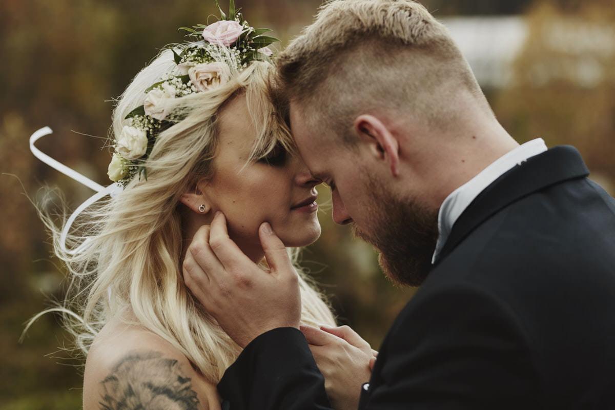 plener ślubny w górach - Państwo Młodzi, fotografia ślubna