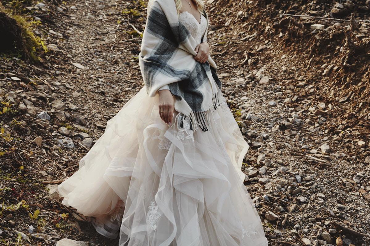 plener ślubny w górach - fotografia ślubna