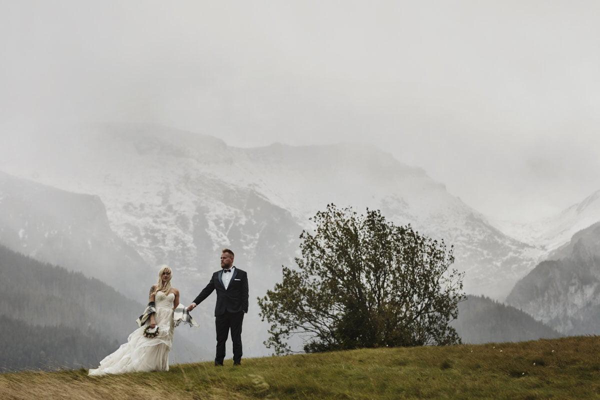 plener ślubny w Tatrach Wysokich - fotograf Szczecin