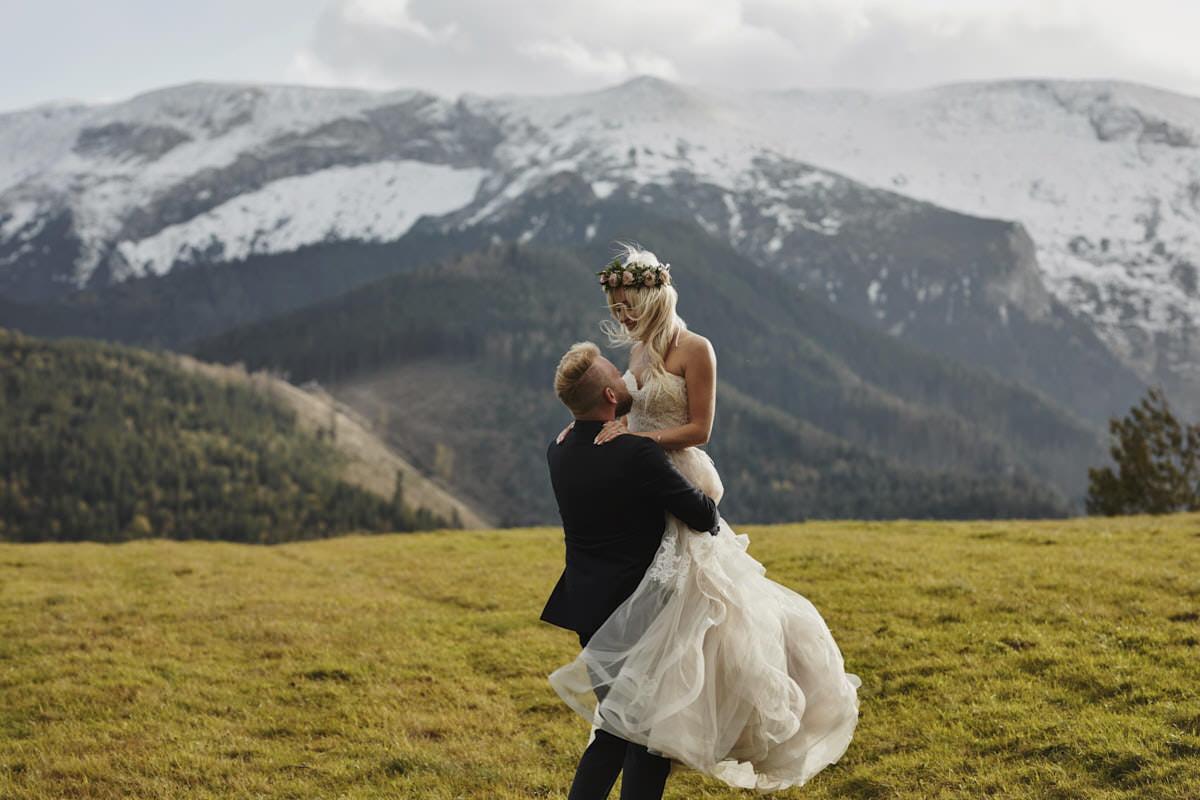 plener ślubny w górach - fotograf Szczecin