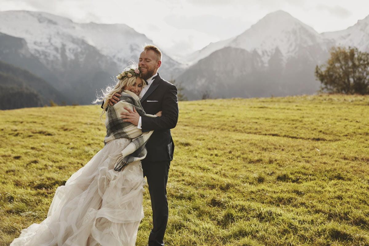 plener ślubny w górach - fotograf ślubny Szczecin