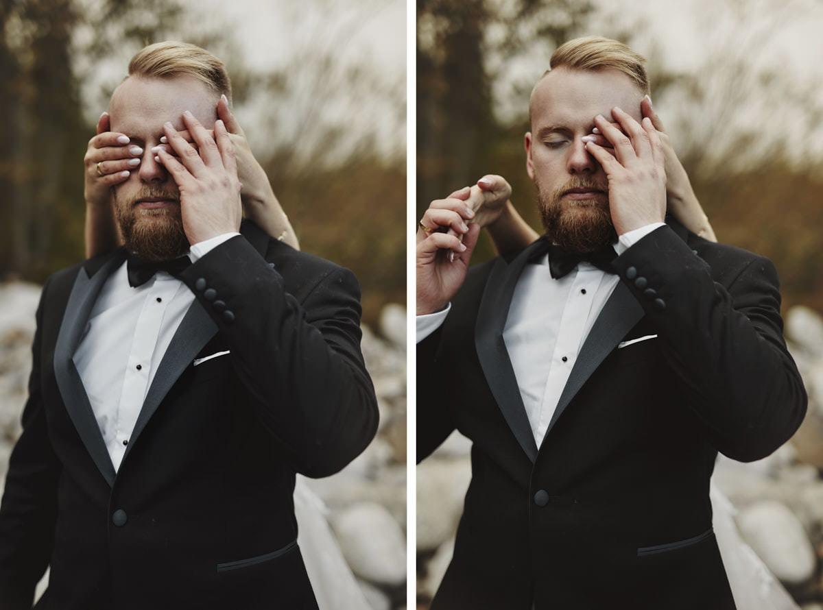 plener ślubny portert - fotografia ślubna, fotograf Przemek Białek