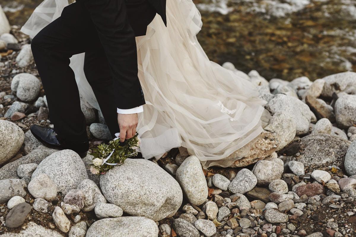 plener ślubny w Tatrach - fotografia ślubna, fotograf Przemek Białek