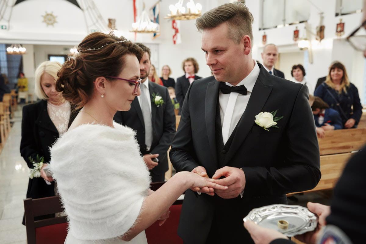 emocjonujący ślub Świnoujście