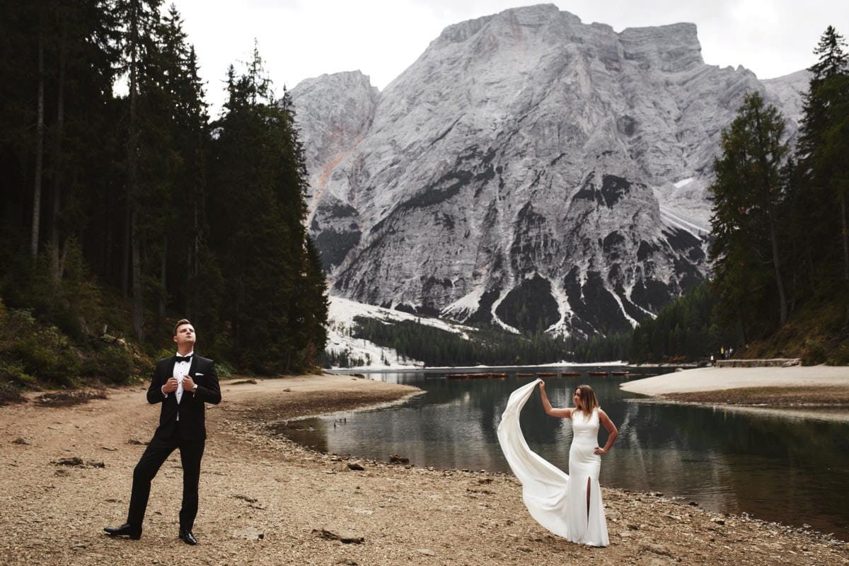 zdjecia ślubne we Włoszech, sesja zagraniczna